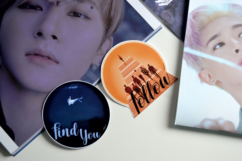 Monsta X Music Sticker Follow Find You Kpop Sticker Music Stickers Monsta X Finding Yourself