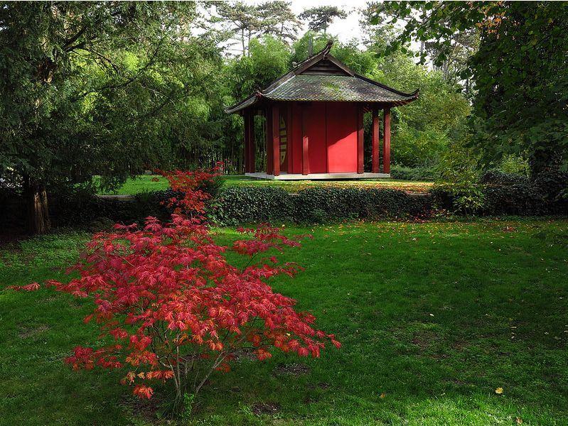Japanese Pavilion, 1907 French Colonial Exhibition, park of the Château de Vincennes, France