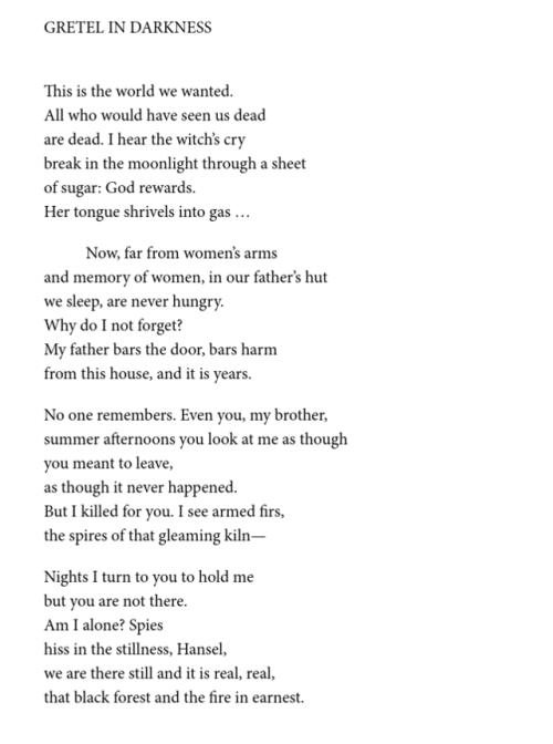 Star Roving Louise Gluck Dark Poetry