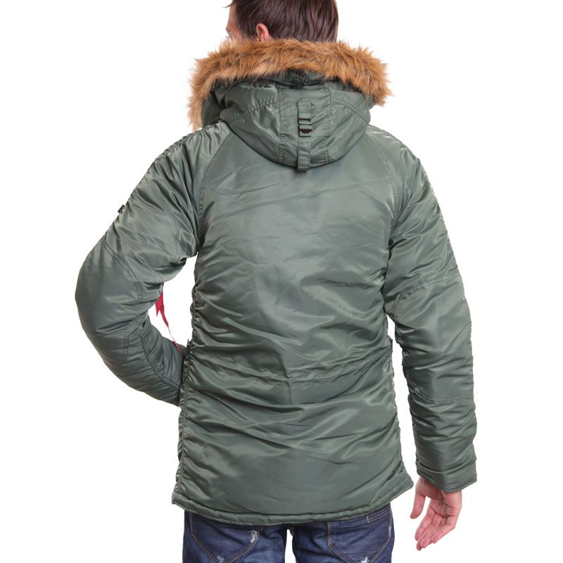 sale retailer 7193b 8bf64 SLIM FIT N-3B PARKA ALPHA INDUSTRIES | moda urbana in 2019 ...