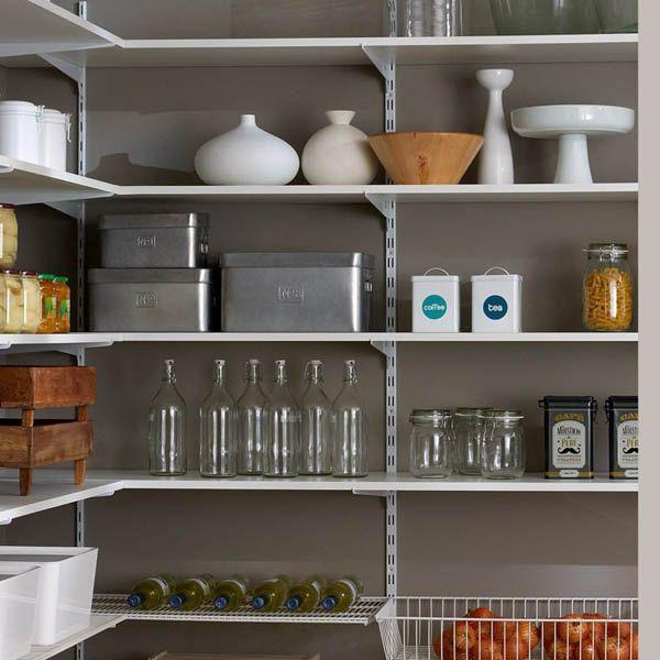 regalsystem f r vorratskammer regale f r keller garage vorratskammer in 2019 speisekammer. Black Bedroom Furniture Sets. Home Design Ideas