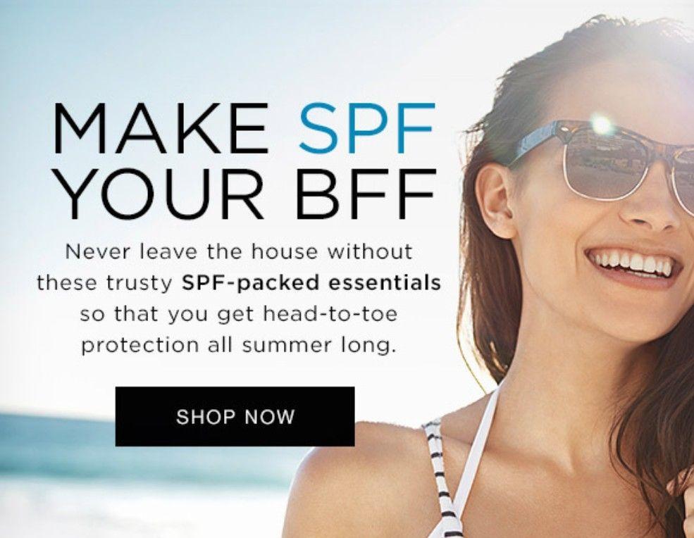 Make SPF your best friend forever this summer. #sunscreen #skincare #skincare #summer #avonrepresentative #AntiAgingSkincare