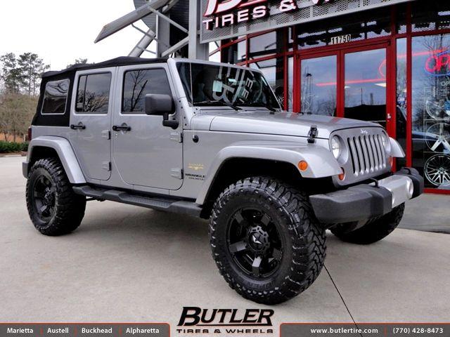 Jeep Wrangler Rockstar Rims Jeep Wrangler With 18in Xd Rockstar