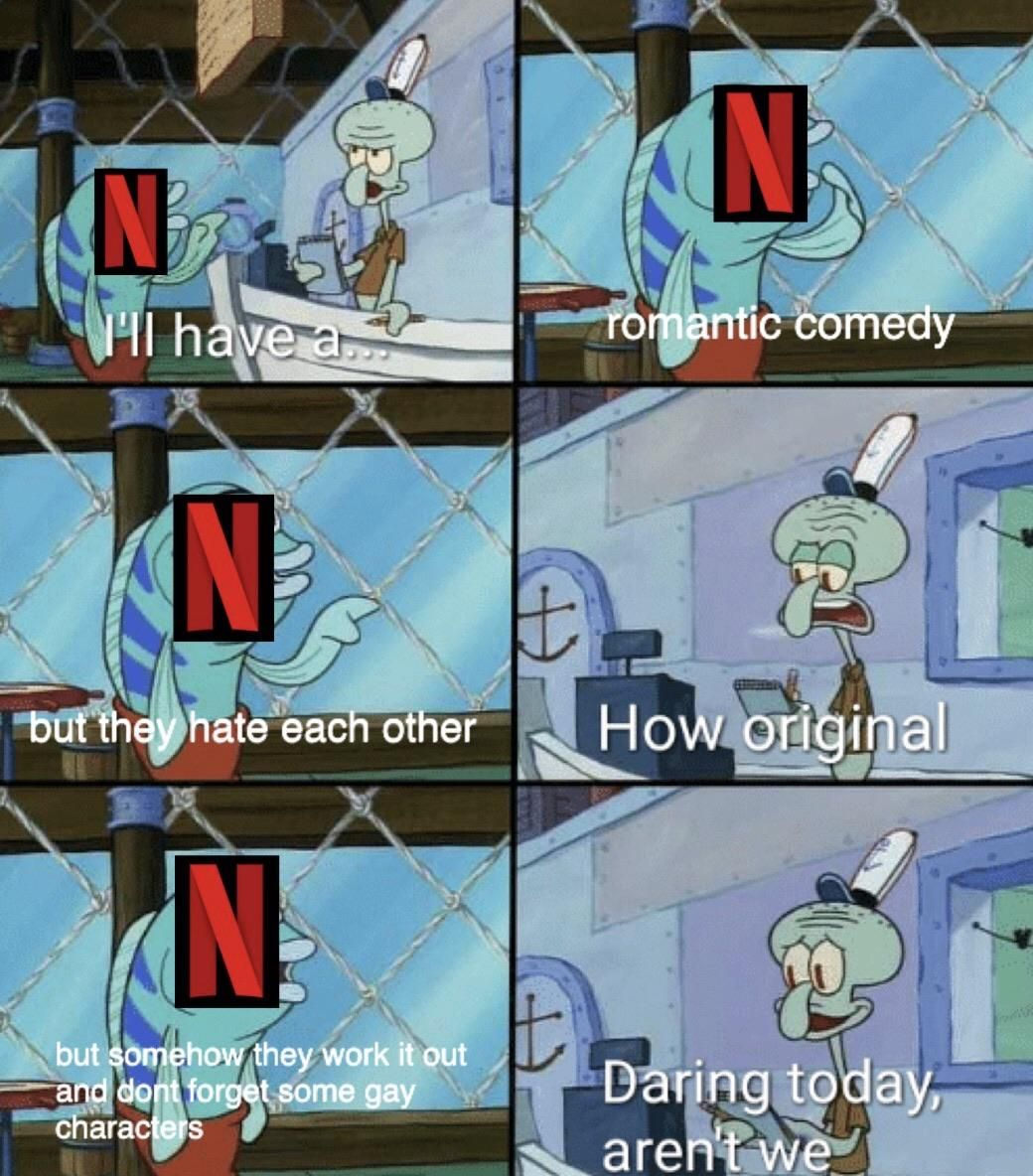 writers of Netflix be like in 2020 Really funny memes