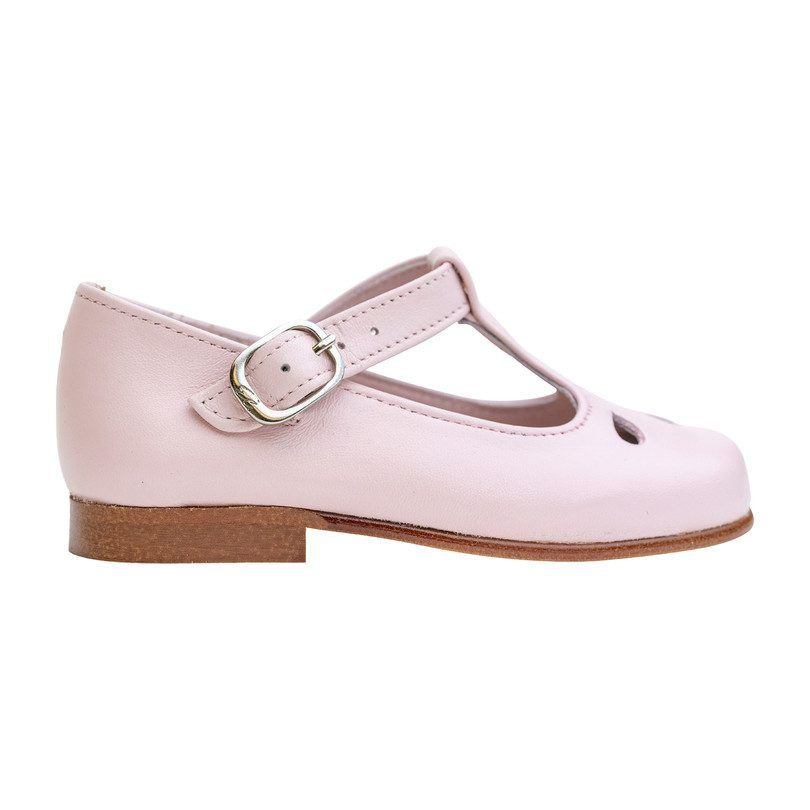Madison T-Strap, Pink - Kids Girl Accessories Shoes - Maisonette