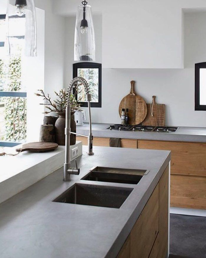 Clean and natural kitchen design. | Houses | Pinterest | Natural ...