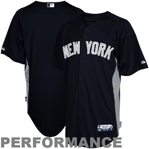 super popular 91119 66a12 Majestic New York Yankees Batting Practice Performance ...