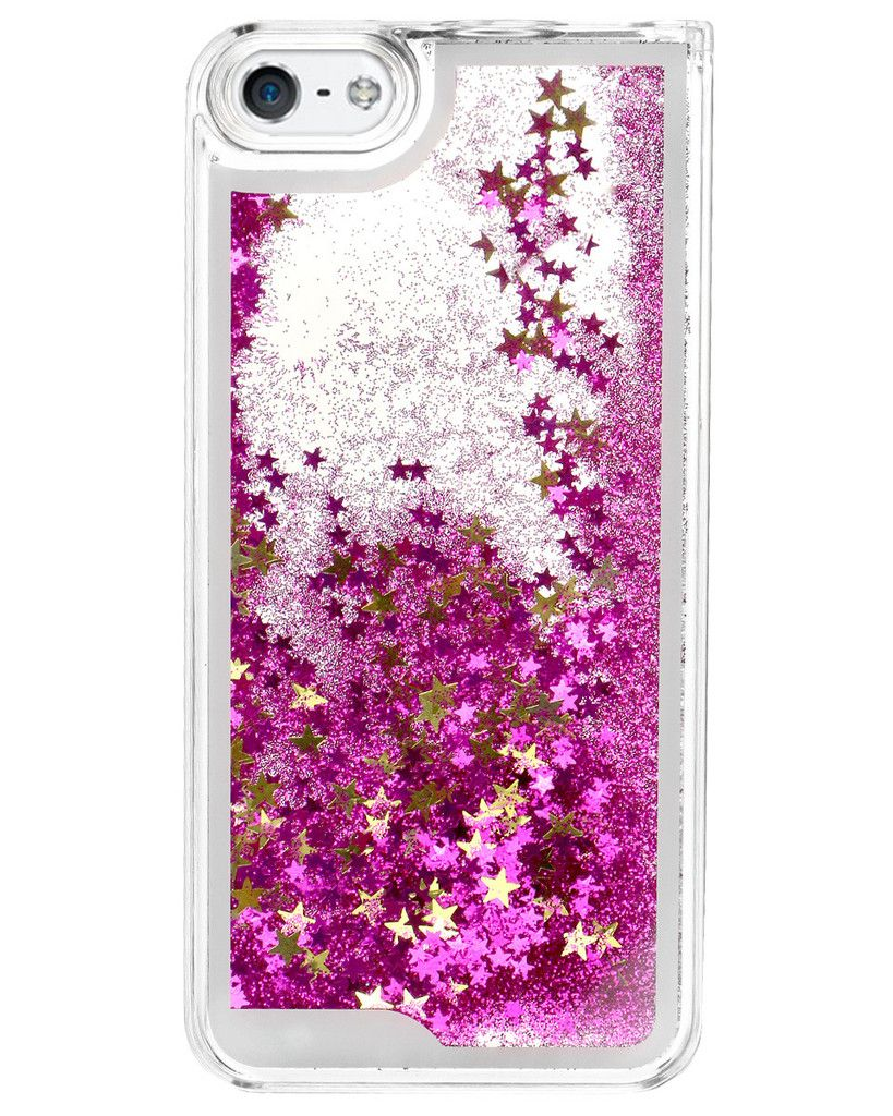 Glitter waterfall phone case 1500 fundas para celular