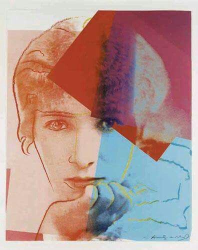 Sarah Bernhardt 1980 by Andy Warhol 1928 1987 - Nationality: American  Style: Pop Art