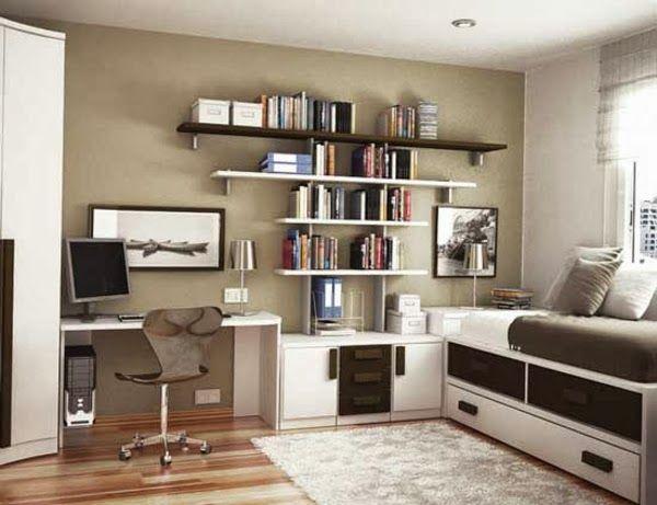 Decoraci n dormitorios juveniles peque os habitaciones - Dormitorios juveniles pequenos ...