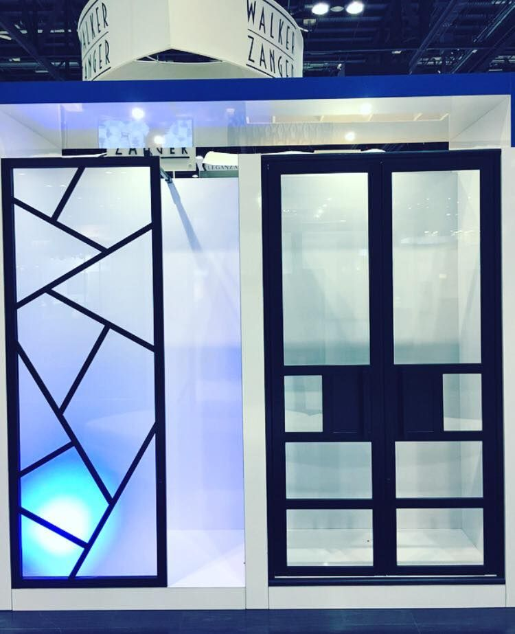 coastal shower doors gridscape series customized to whatever you can imagine kbis2017