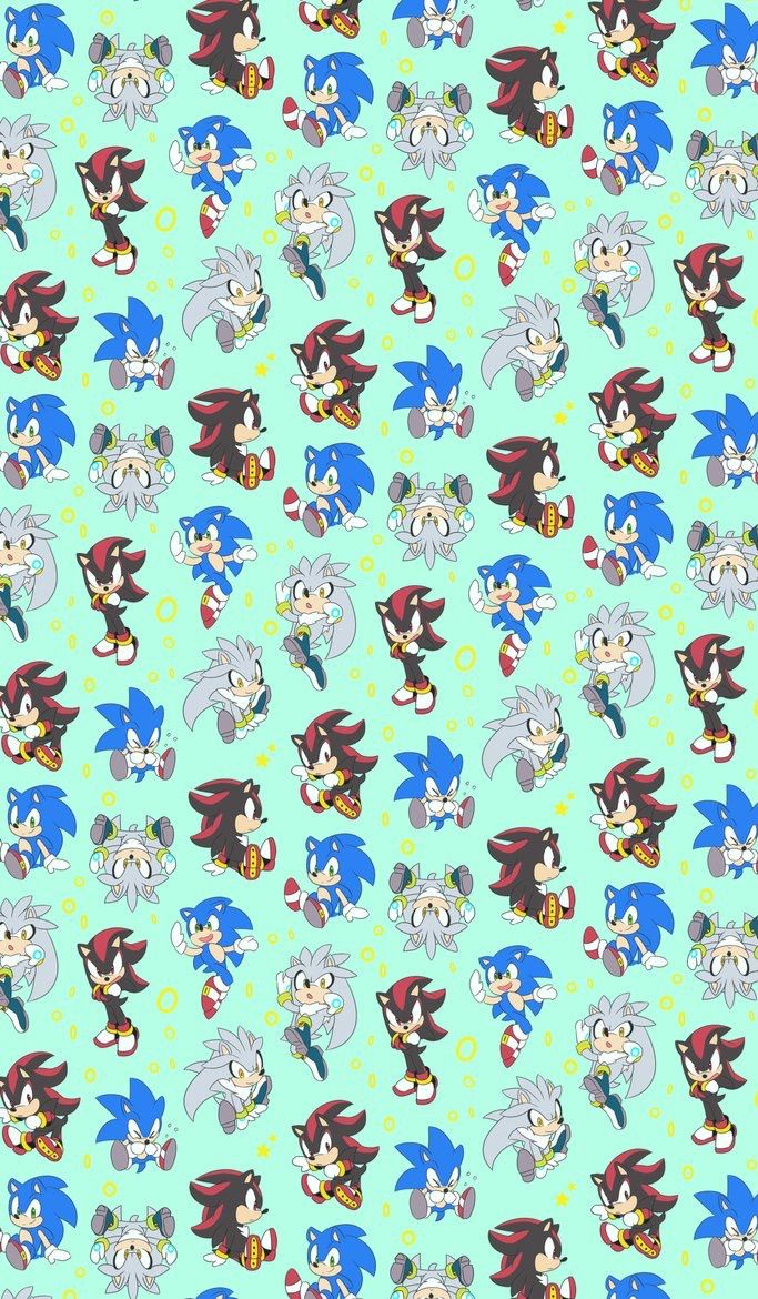 Sonic Shadow And Silver Iphone Wallpaper The Hedgehogs Sonic