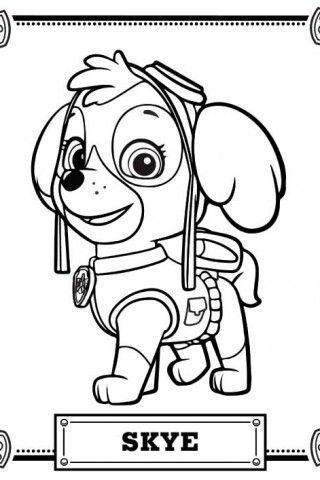 Patrulla Canina Personajes Para Colorear Patrulla Canina