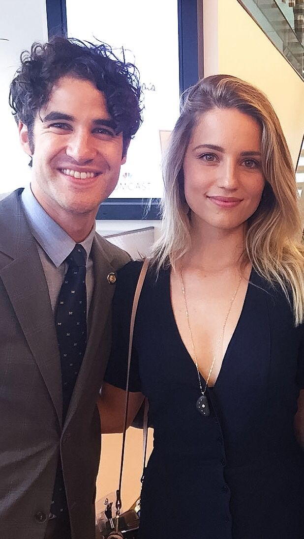 Did darren criss dating dianna agron hairstyles