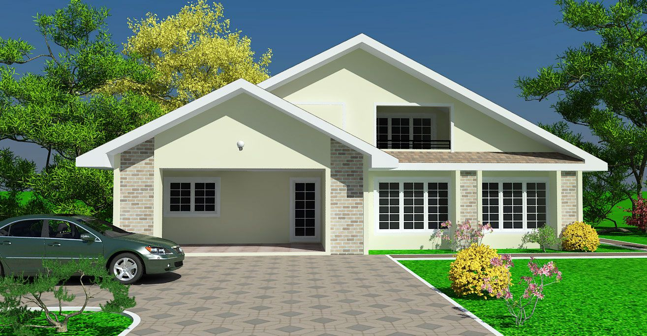 Modern modern house plans ghana new ghana house plans new for Modern house plans in ghana