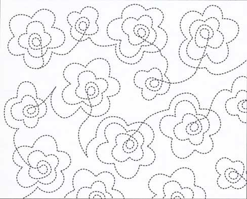 Drawing Continuous Filler Quilting Designs | Machine quilting ... : free quilting designs for machine quilting - Adamdwight.com