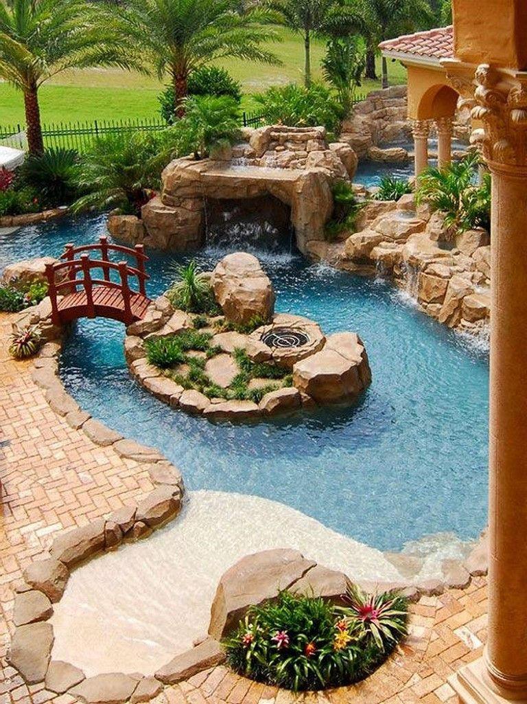 35 Small Backyard Swimming Pool Designs Ideas You\'ll Love