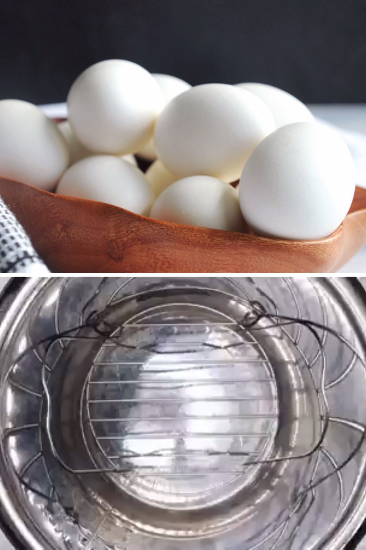 Easy Peel Instant Pot Hard Boiled Eggs