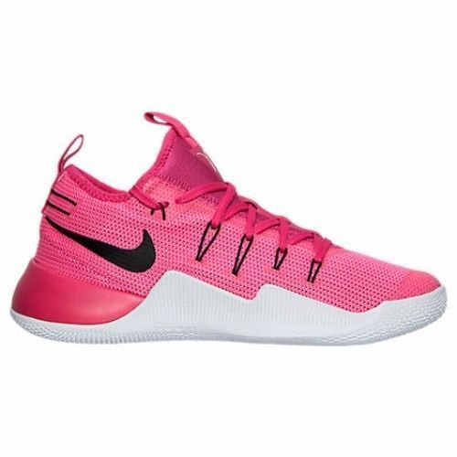 59a22907ccc Nike Hypershift Mens Basketball Shoes 12 Vivid Pink Black Kay Yow 844369  606 BCA  Nike  BasketballShoes
