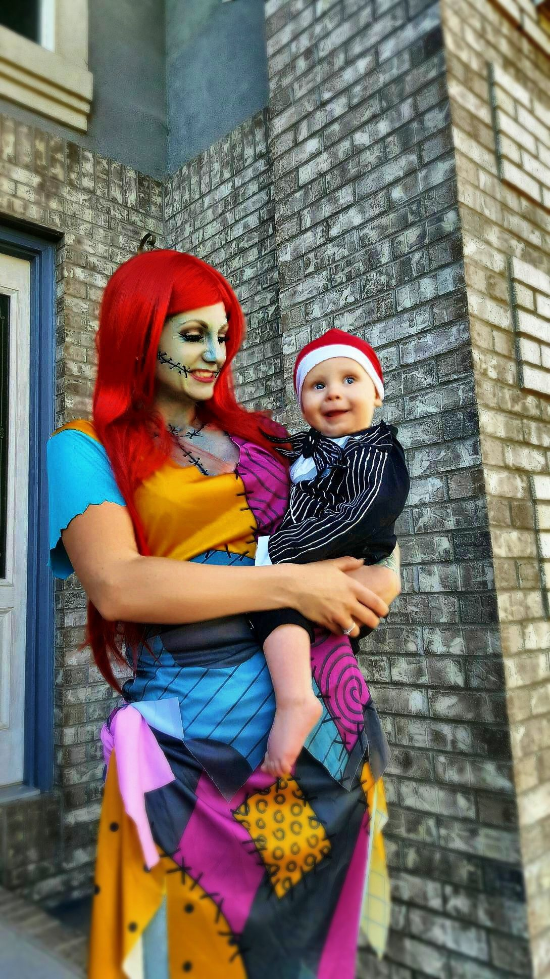 Jack and sally costume mother and son Halloween costume instagram Akfortyseven89  sc 1 st  Pinterest & Jack and sally costume mother and son Halloween costume instagram ...