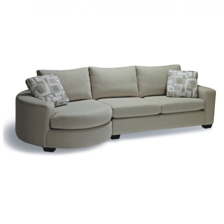 Stylus  Cannon  Round Chaise Sectional (Custom Fabrics Available) | Jowseyu0027s Furniture u0026  sc 1 st  Pinterest : stylus sectional - Sectionals, Sofas & Couches