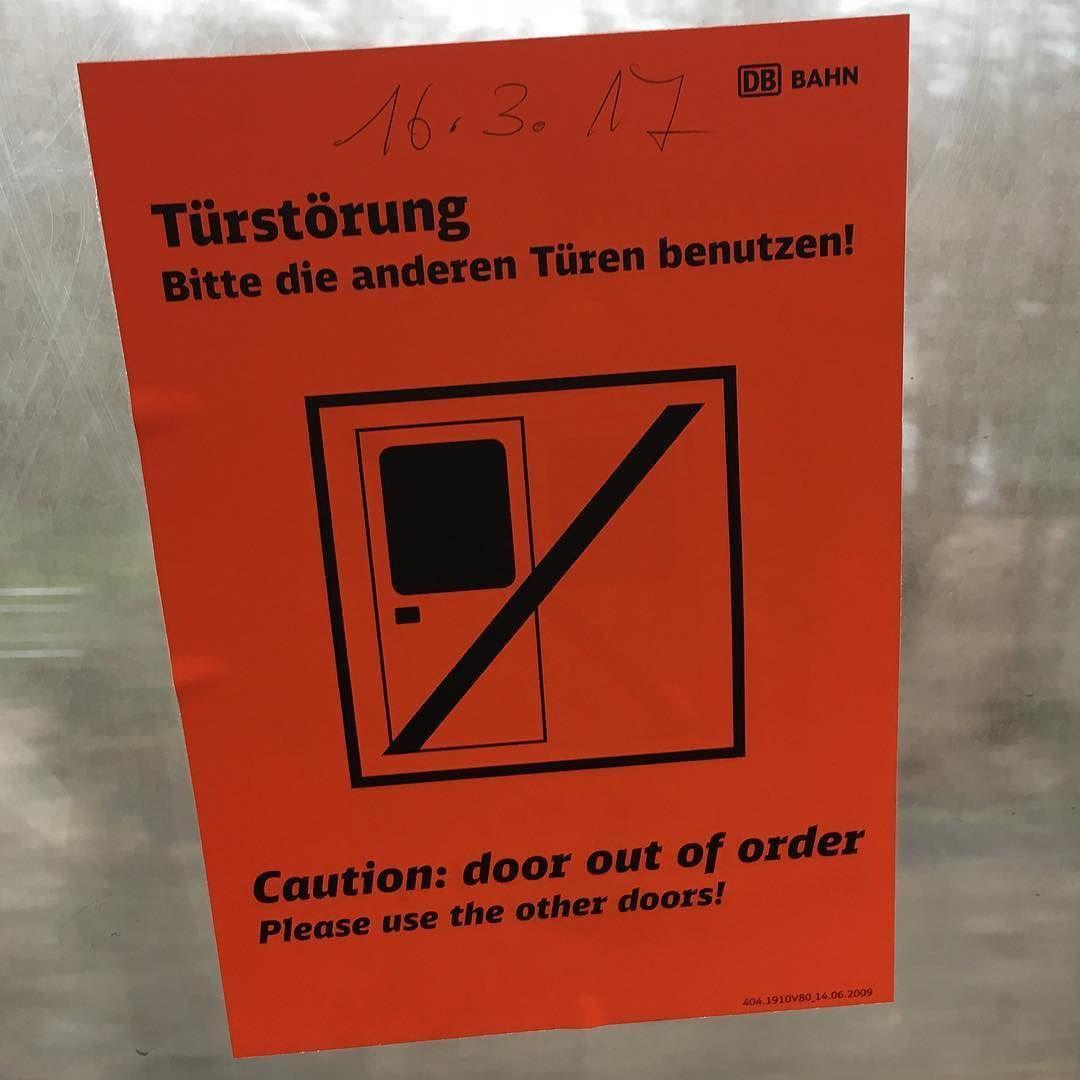 Läuft bei euch @deutschebahn #youhadonejob #fail #error #