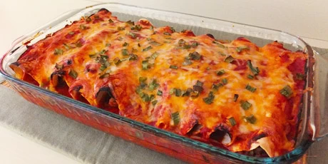 Photo of Chicken Enchiladas Recipes | Food Network Canada