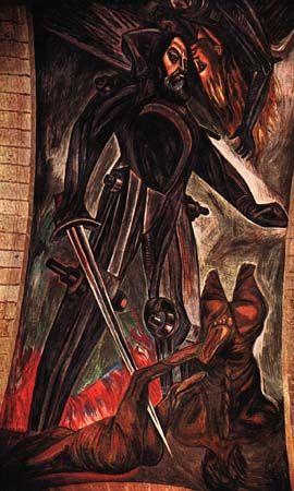 Jose Clemente Orozco Arte Arte Mexicano Arte Pintura Y Pintura