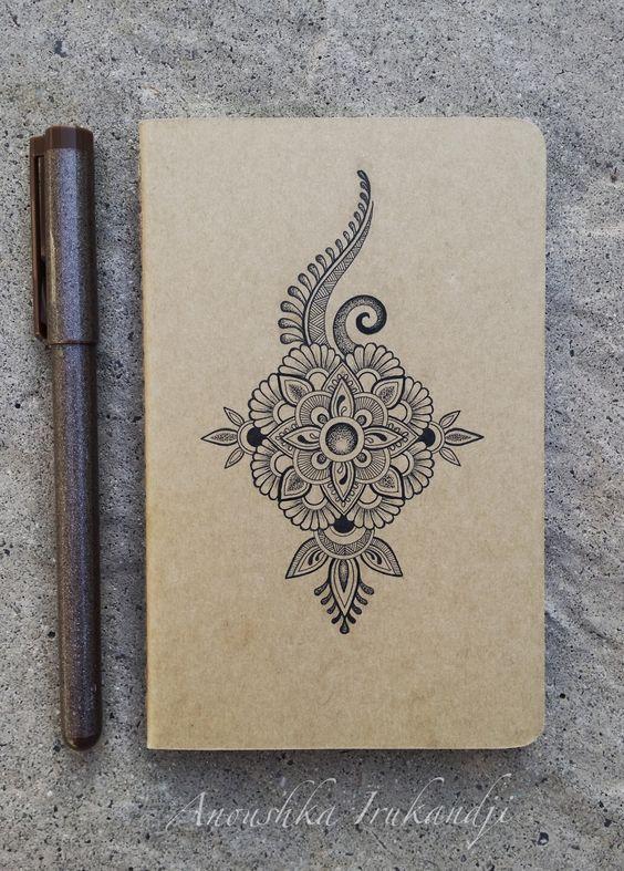 Tiny Mandala,tiny Moleskine…. www.irukandjidesigns.bigcartel.com Anoushka Irukandji 2015