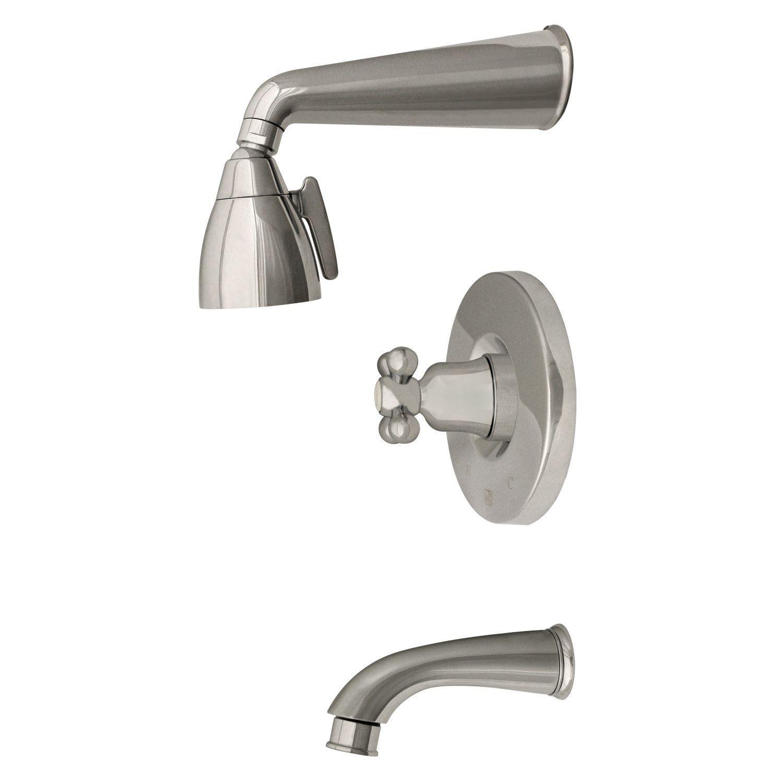 Blairhaus McKinley pressure balance valve with showerhead, tub ...