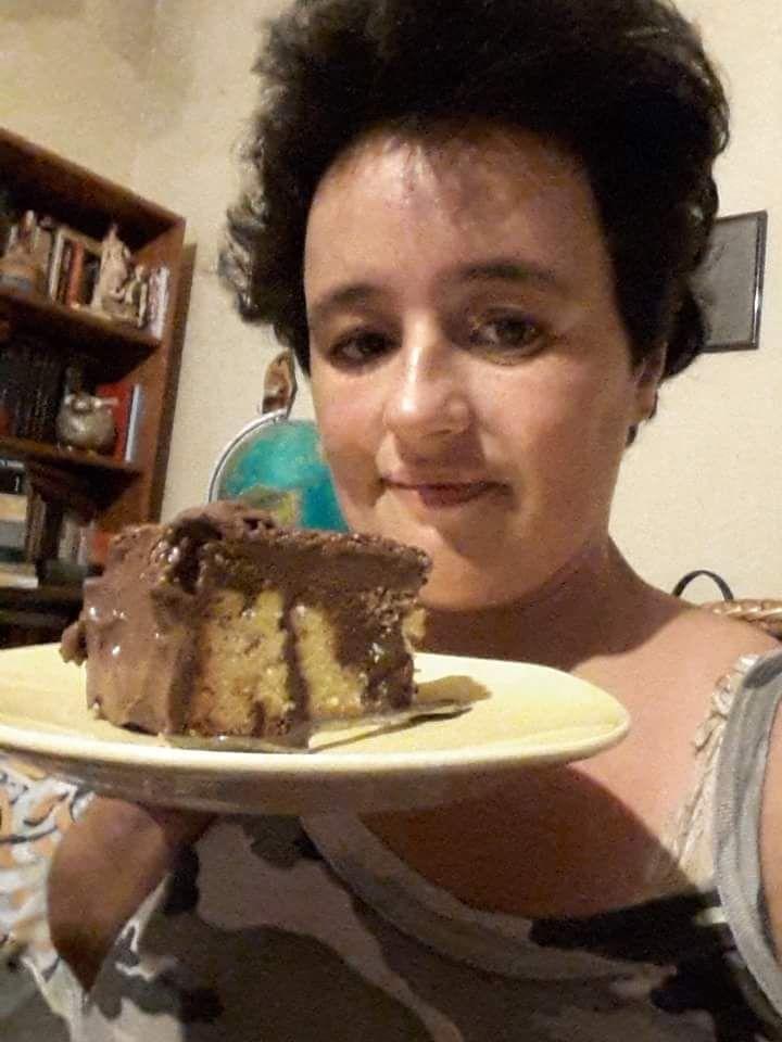 Bella a los 40: Postre helado de chocolate