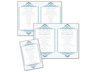 6 pretty and easy diy wedding ceremony program templates wedding
