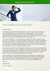 flight attendant cover letter Flight Attendant Pinterest