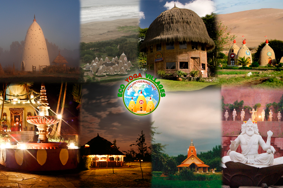 Eco Yoga Villages is a network of eco-villiages.