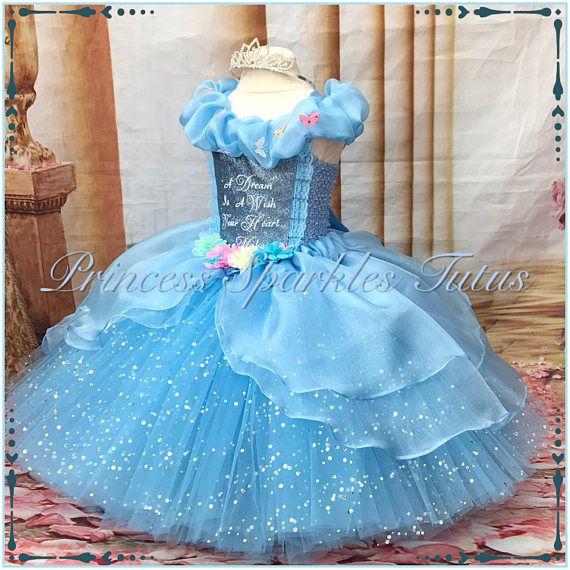 f4a0a679a132 Cinderella inspired tutu ball gown