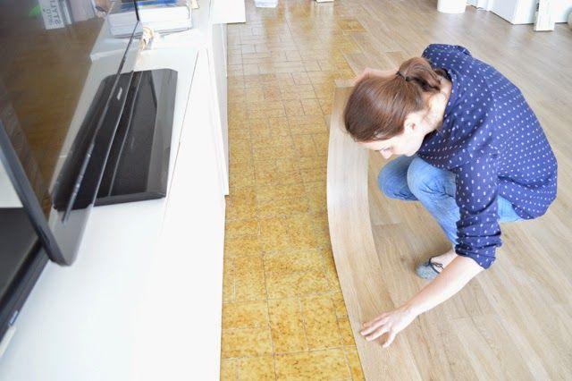 Diy el cambio del suelo de mi casa con las laminas de - Suelo laminado autoadhesivo ...