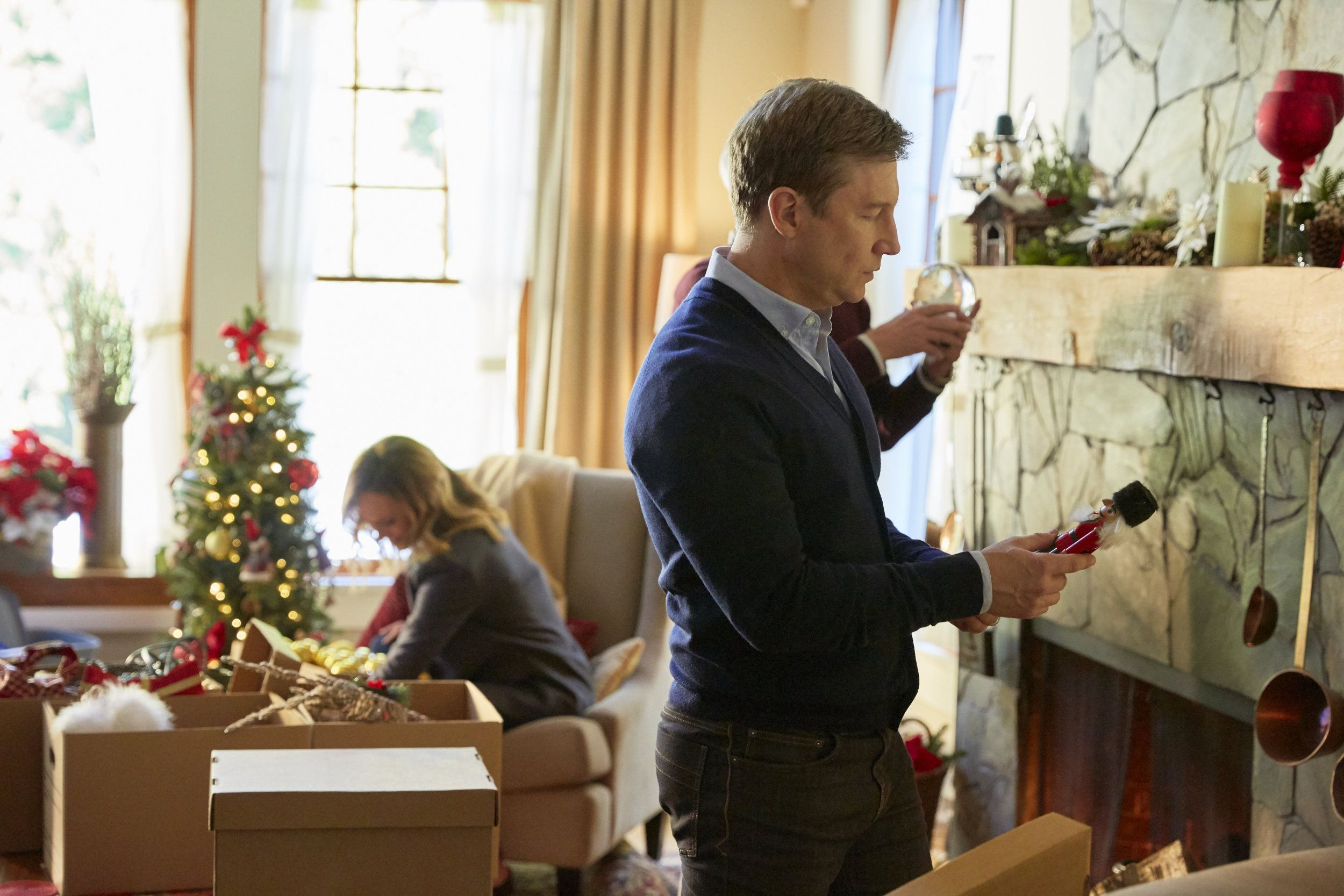 Reunited At Christmas.Check Out Photos From The Hallmark Movies Mysteries Movie