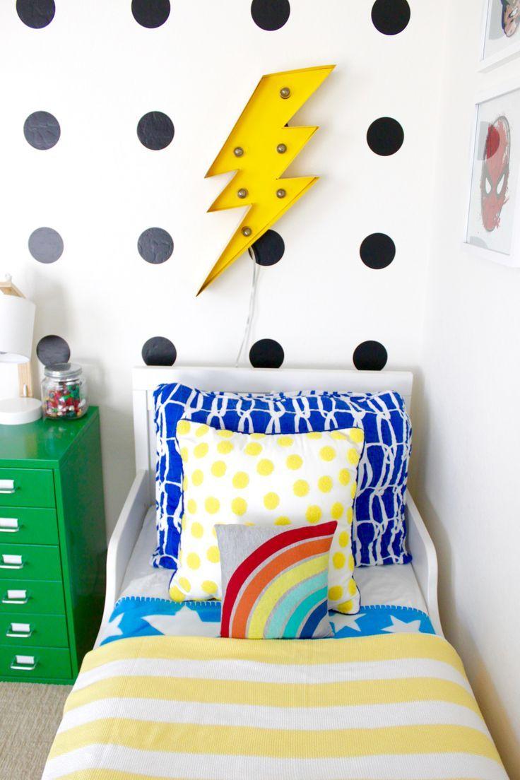 superhero toddler room reveal  project nursery  kids
