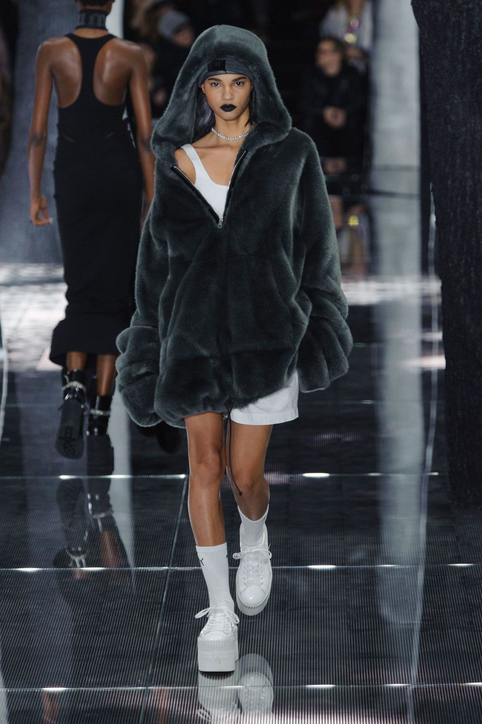 fenty puma fur hoodie