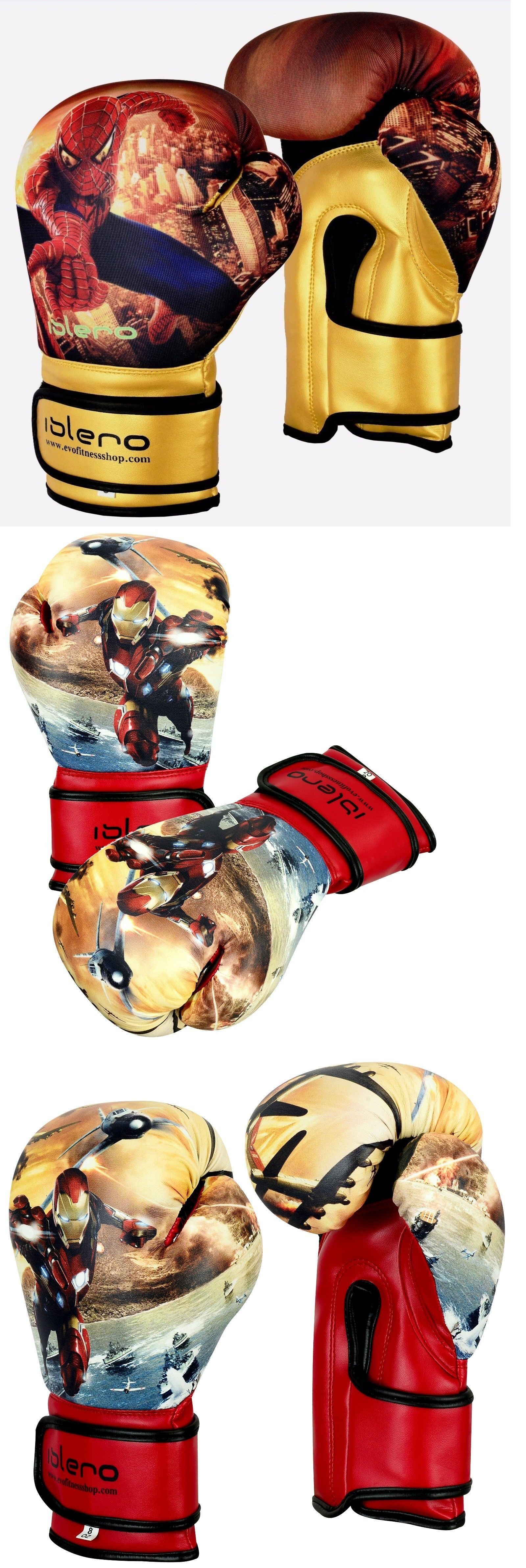 Details about evo kids boxing gloves junior mma punch bag