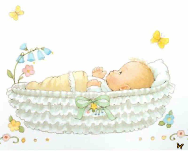 Carro Del Cielo Bebe Clipart Nuevos Bebes Ilustracion De Bebe