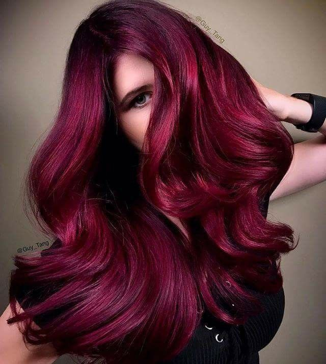 Guy Tang Hair I Am Feeling The Reds And Showcased The Midnight Rose