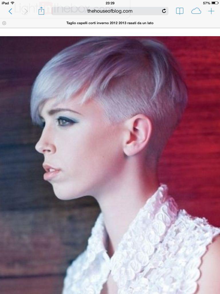 Foto capelli corti lilla