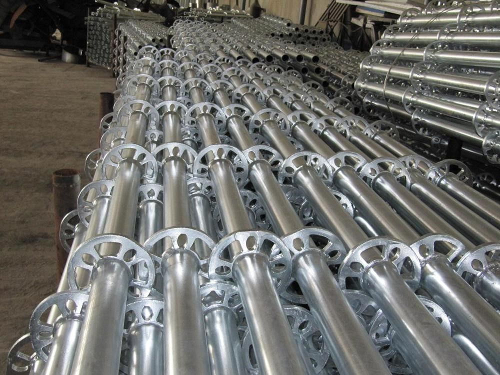 Best Q235 Steel Galvanized Layher Used Ringlock Scaffold System 400 x 300