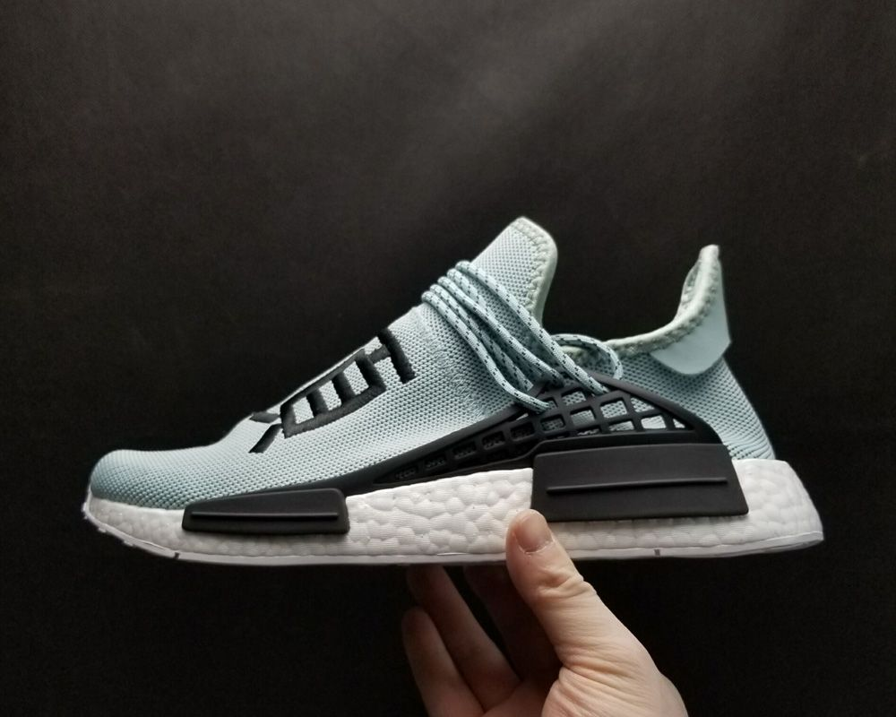 9ac2261f4 Buy Pharrell Williams x adidas NMD Human Race TR Light Blue Online – New  Yeezy Boost