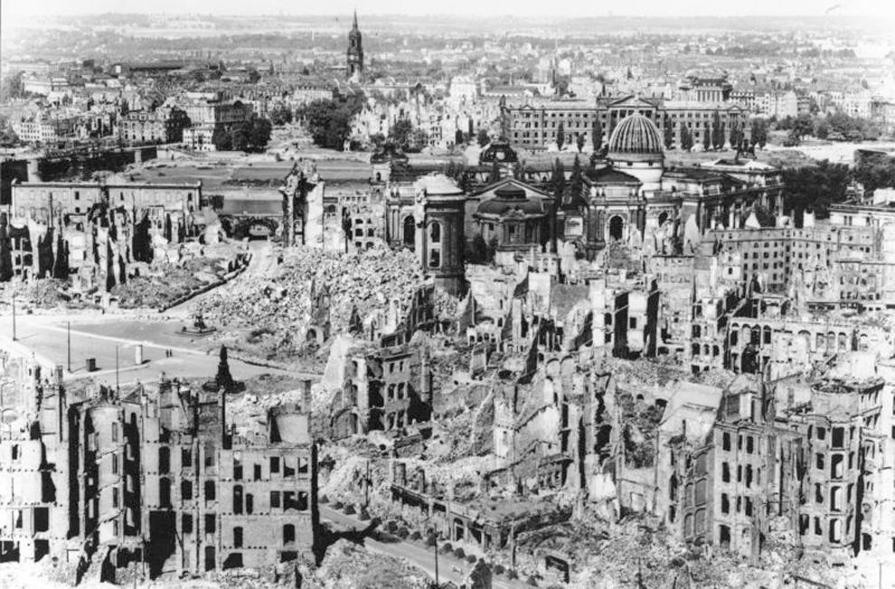 On February 13, 1945, Allied forces began a massive firebombing of Dresden, Germany.