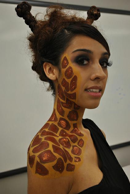 giraffe. | costumes | Pinterest | Giraffe, Makeup and Costumes