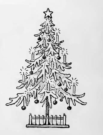 you can find many free christmas stencils on the net but what about cutting them - Coloring Pages Of Christmas Trees 3