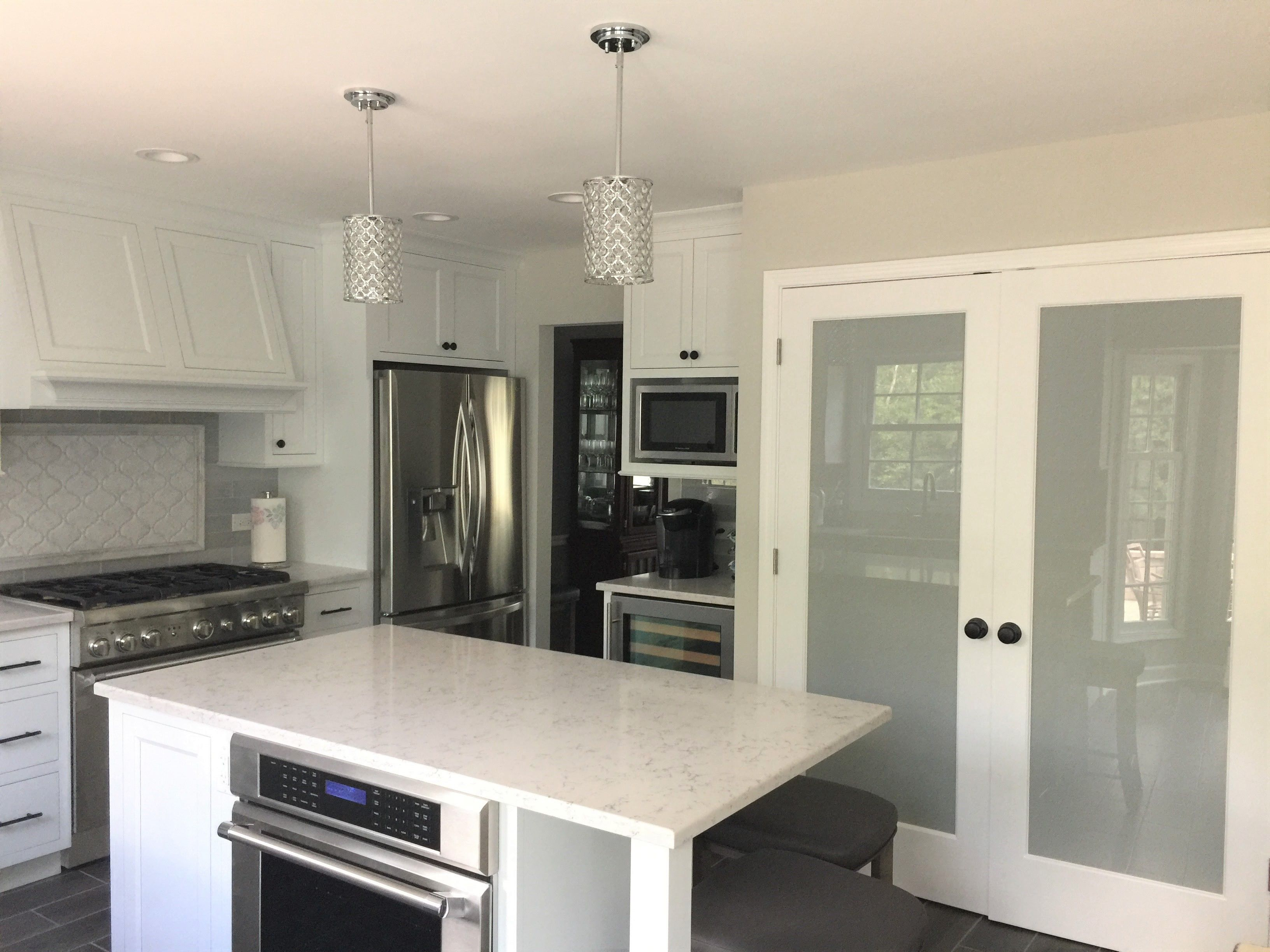 Smart Kitchen Designs Spacious Pantry Built In Appliances Kitchen Island With A Built In Oven Smart Kitchen Kitchen Appliances Kitchen Design