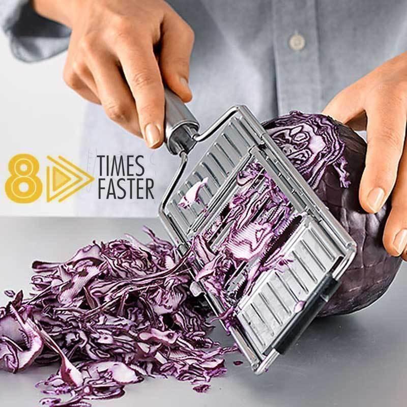 8X schneller   Mehrzweck-Gemüseschneider
